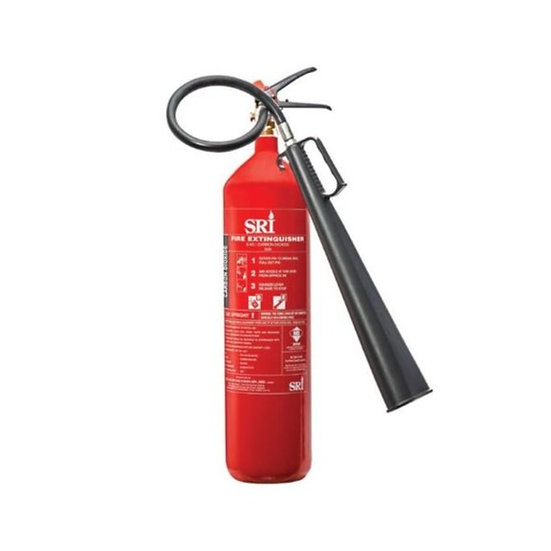 SRI 5kg Carbon Dioxide Portable Fire Extinguisher