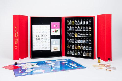 Le Nez du vin bundle: The 54 aromas Masterkit + The Board game