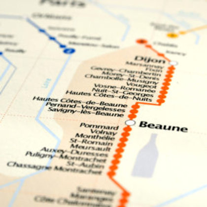 Metro Wine Map of France pocket size (French edition)