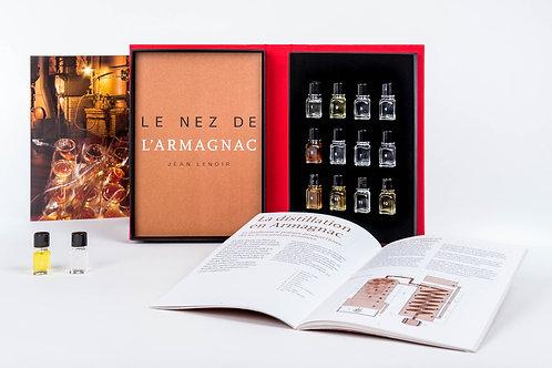 Le Nez de l'Armagnac - 12 aromas (en Francais)