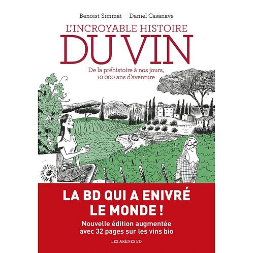 L'incroyable Histoire du Vin en BD (French Edition)