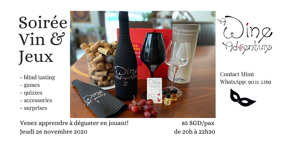 Wine Game night (in French)