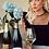 Thumbnail:  Champagne Cork silver earings