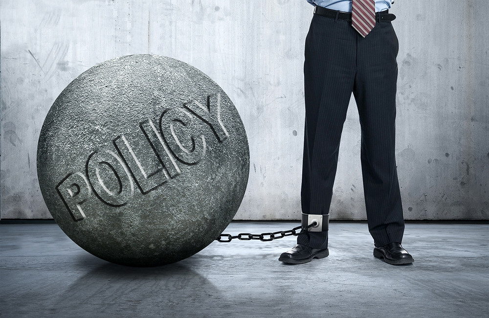 The Ball & Chain That Unwise Policy Could Be