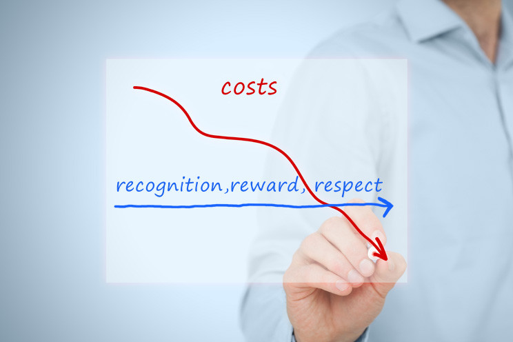 Do you keep driving down costs, but recognition, reward and respect don't seem to change?