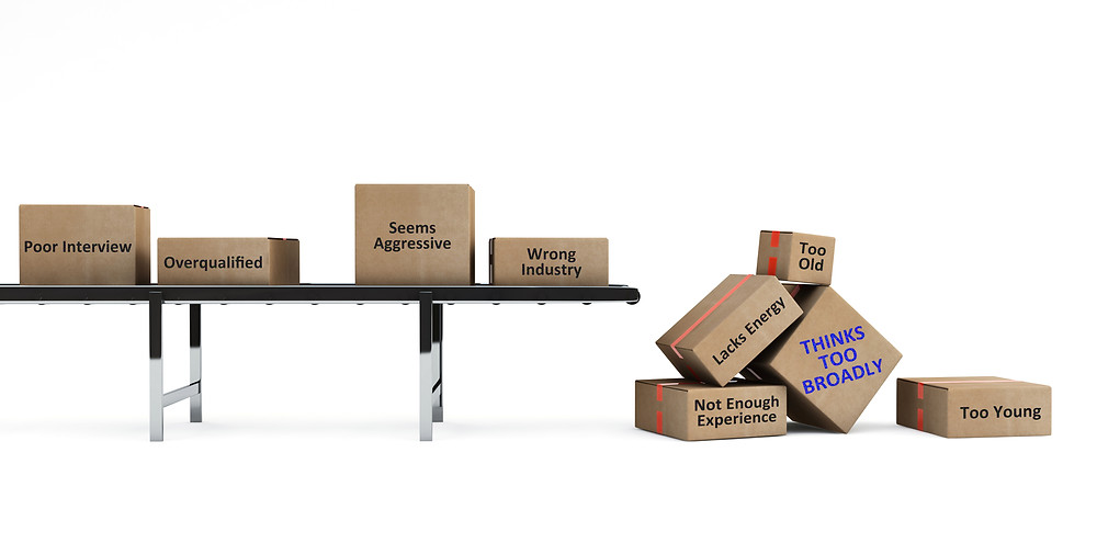 Boxes falling off the end of a conveyor belt - is this people falling off your recruiting process?