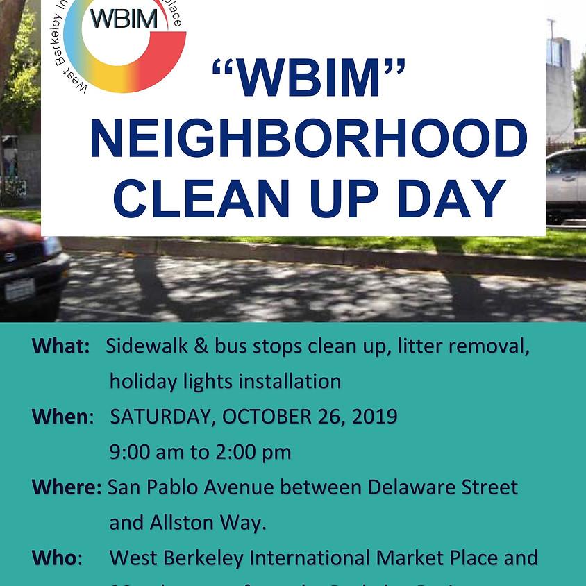 WBIM Neighborhood Clean UP Day