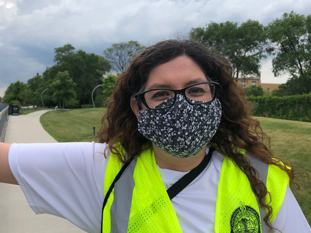 Volunteer as a Social Distance Ambassador on the Bloomingdale Trail