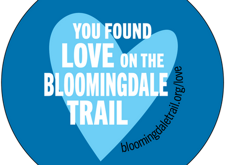 All Feb. Find Love on the Bloomingdale Trail