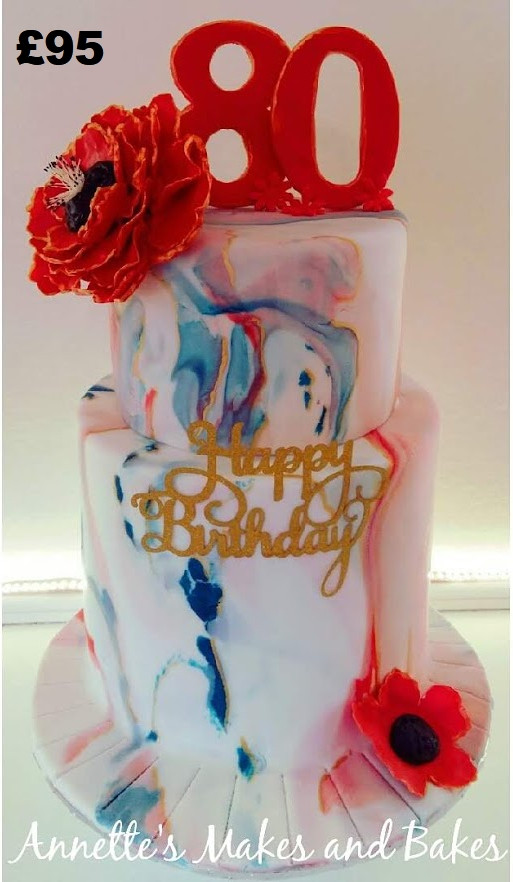 80th red blue and gold birthday cake.jpg