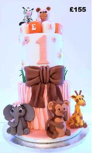pink girls jungle themed cake.jpg