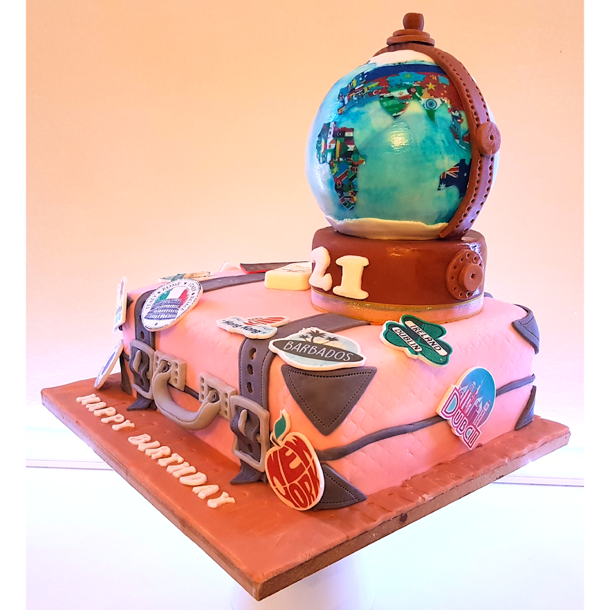 3D Suitecase and globe cake 2.png