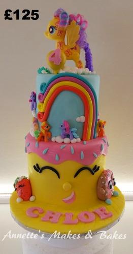 Shopkins & My Little Pony cake.jpg