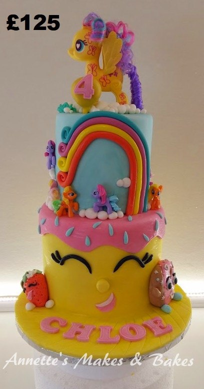 Shopkins & My Little Pony cake.jpg