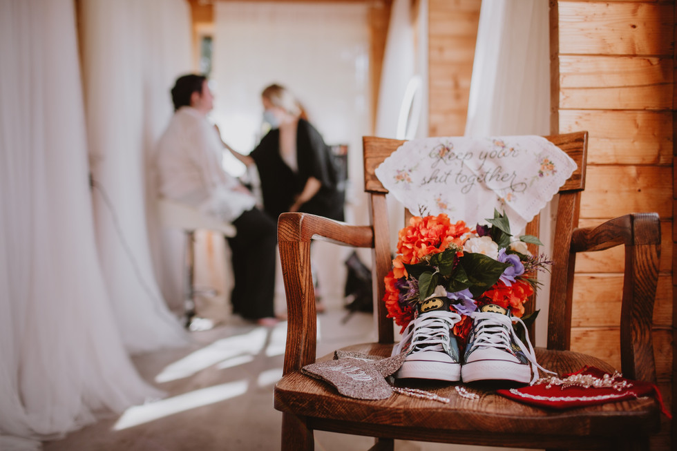 Fall Wedding At Rivers Edge Resort