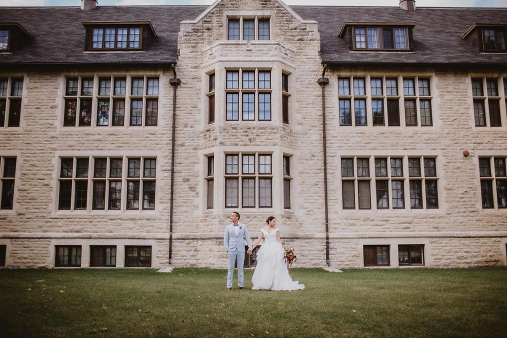 Fall Wedding Inspo at CMU in Winnipeg