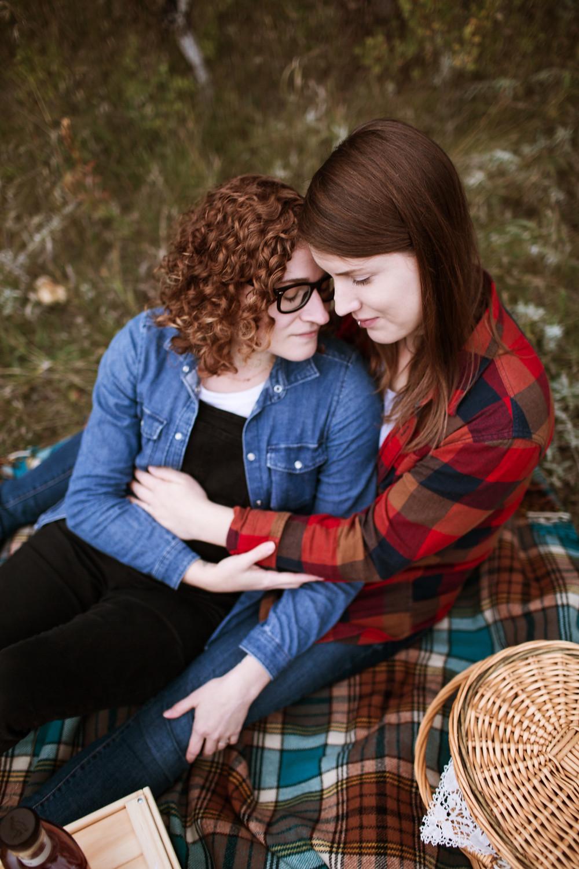 Fall couple photo session.