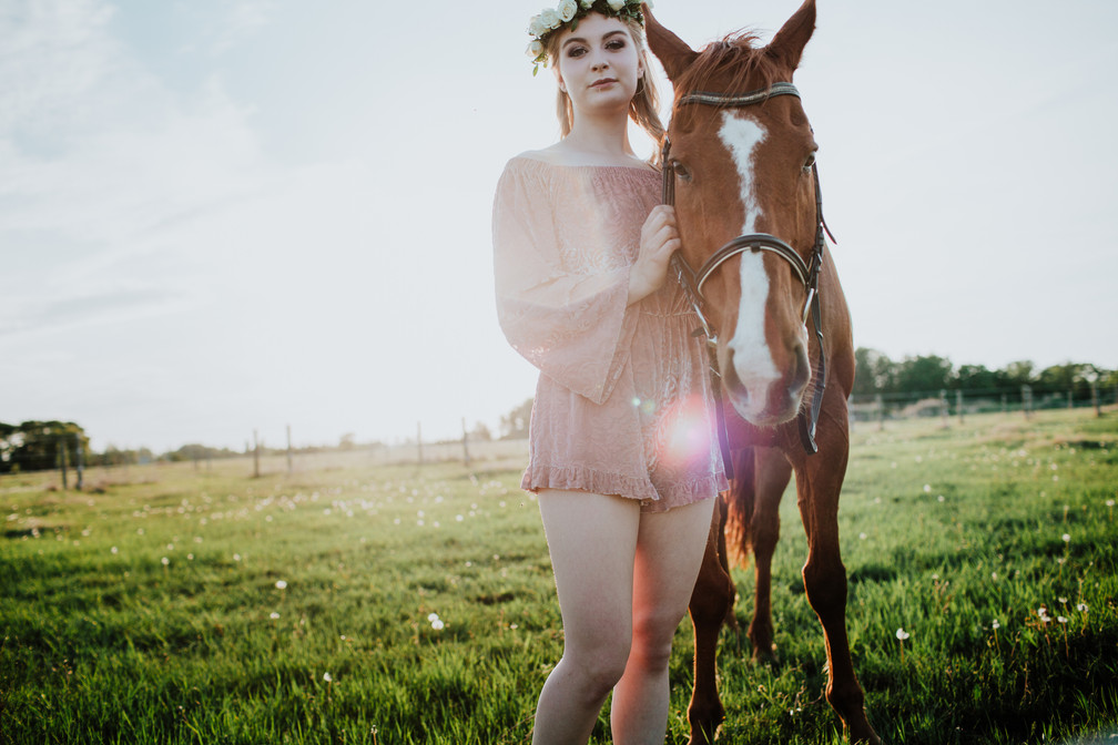 Portraits with a Horse