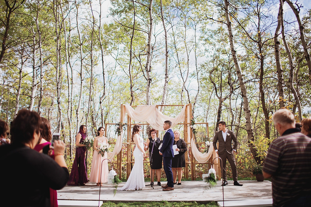 Wedding ceremony performed by A Perfect Ceremony I Do