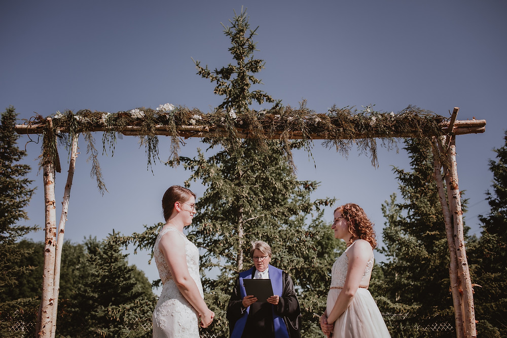 Manitoba micro wedding.