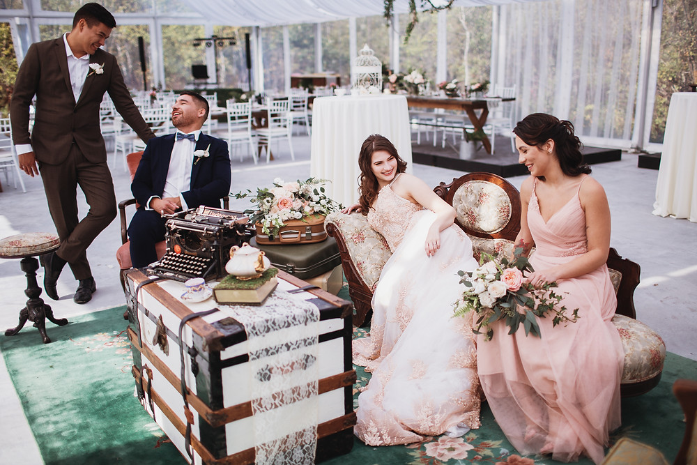 Fall bridal party inspiration.