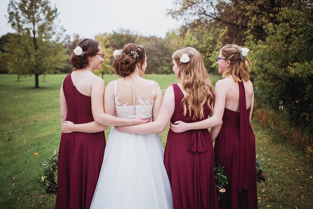 Fall bridal party inspo