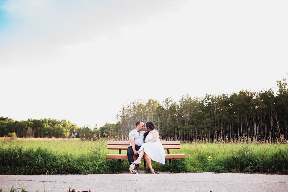Assiniboine Forest Love Story Session