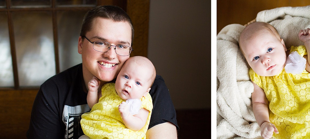 Baby Cymphonique with Daddy