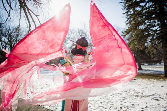 Auriel in Sakura Skin, Manitoba Cosplay