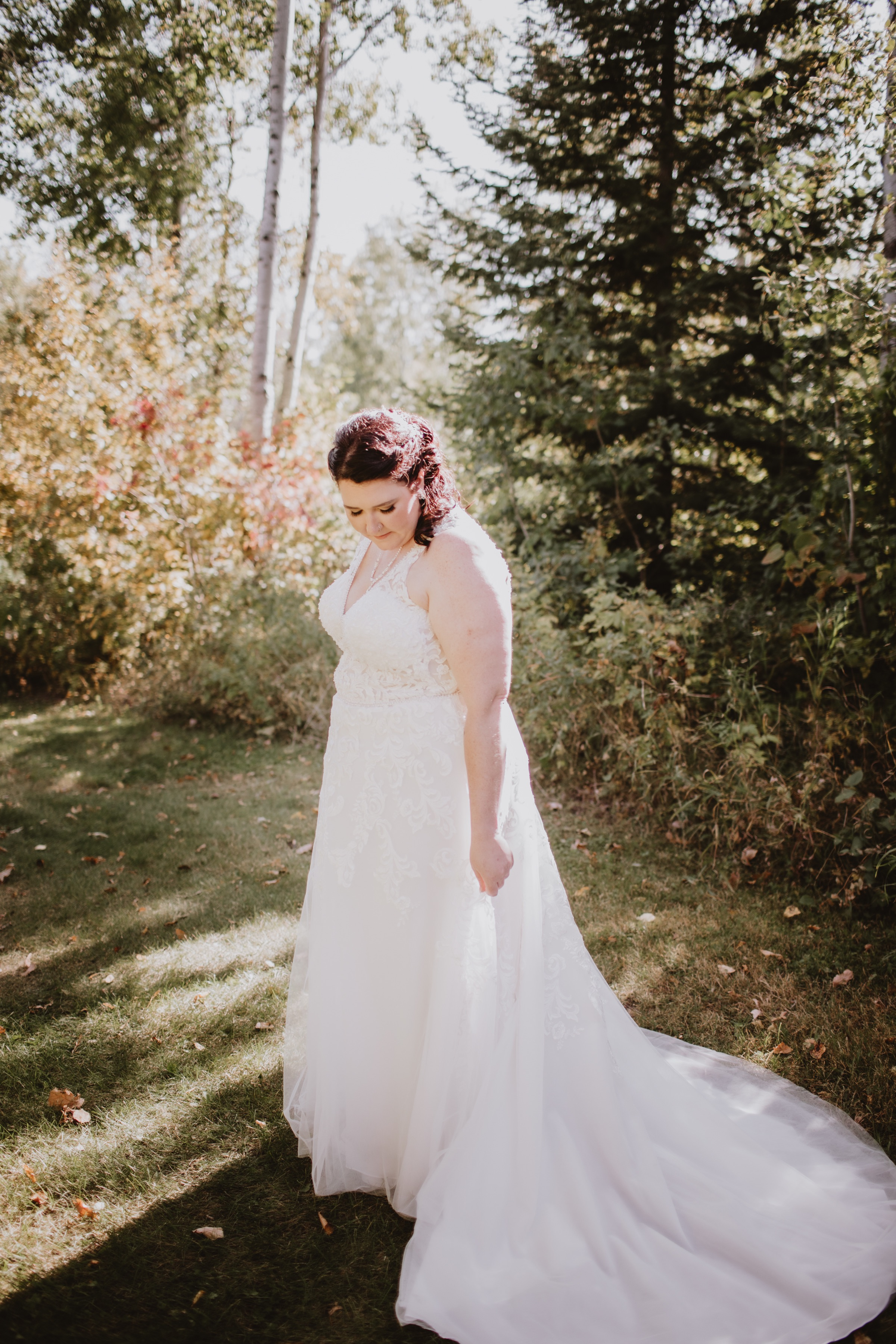 A-Line Wedding Gown from CKLY Fashion and Bridal.