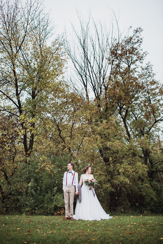 Winkler, Manitoba wedding couple
