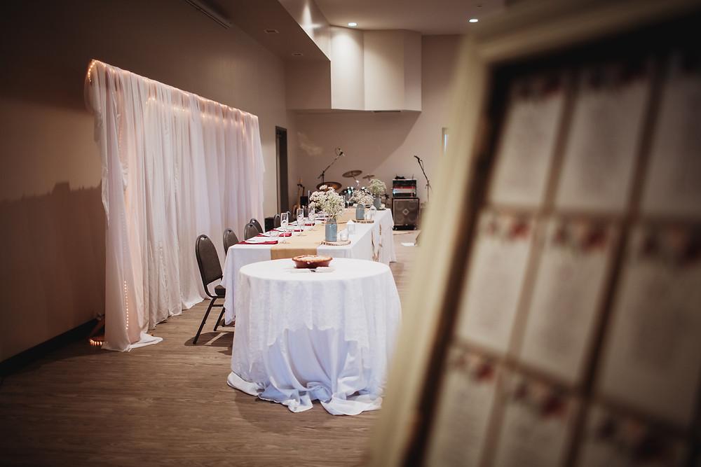 Wedding reception ideas.