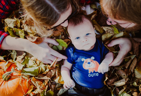 Fall Newborn Photos