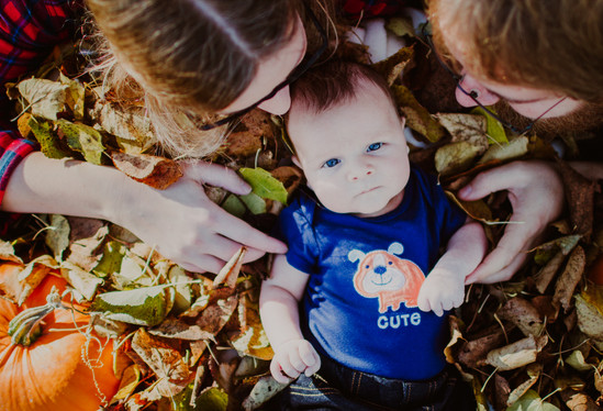 Fall Baby Portrait