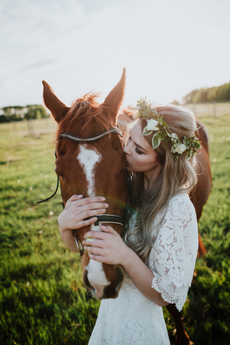 Flower Crown by Flowers by Galina