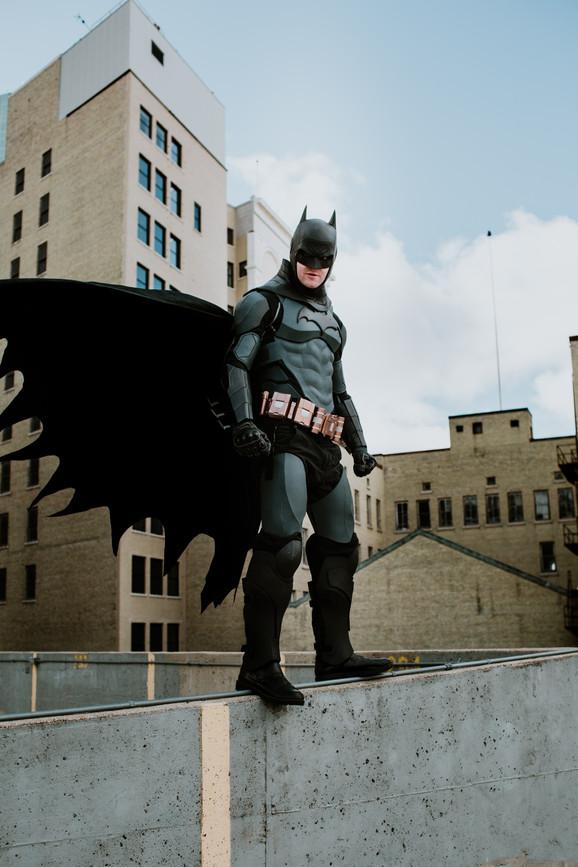 Winnipeg's Dark Knight Cosplay