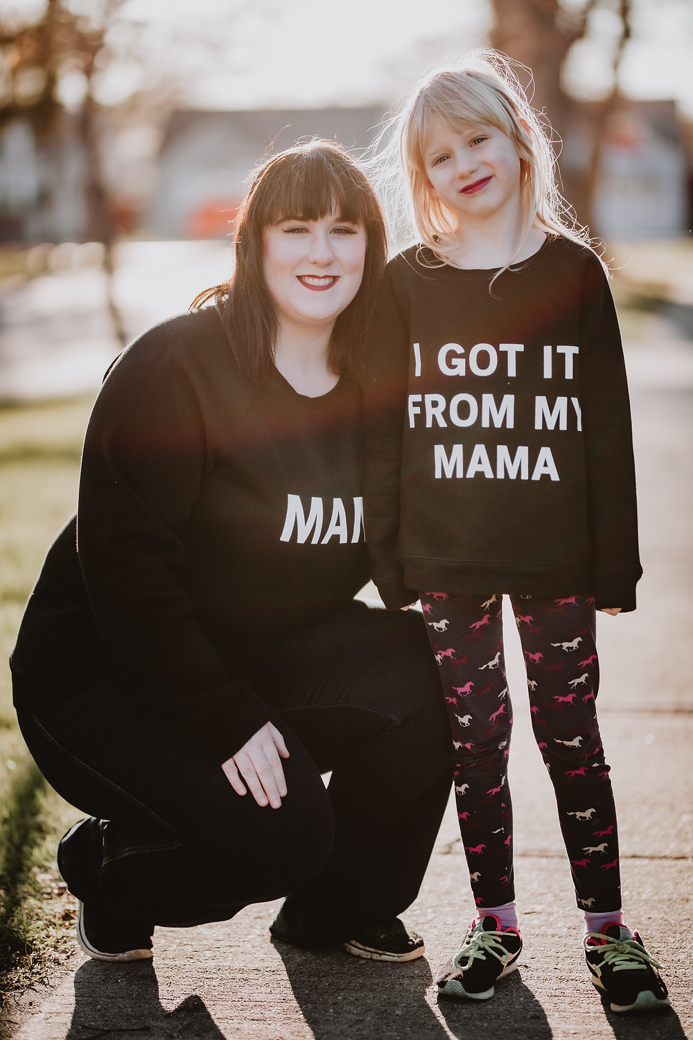 Mama and me photoshoot in Winnipeg, Manitoba.