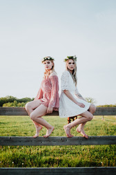 Romper and Dress by Hush and Shout Clothing