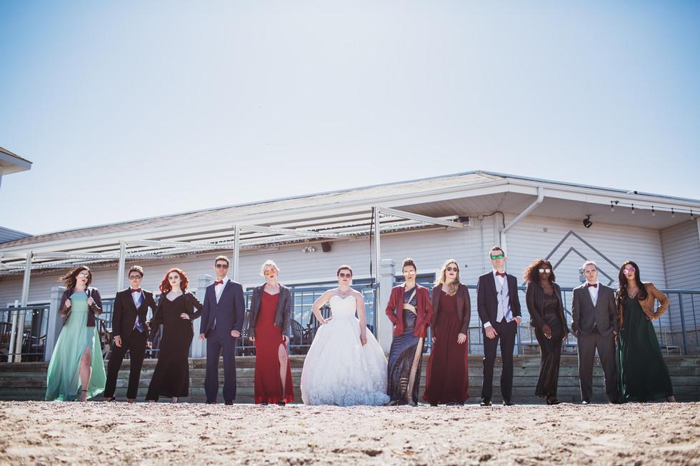 End Game: Winnipeg Marvel-Themed Wedding