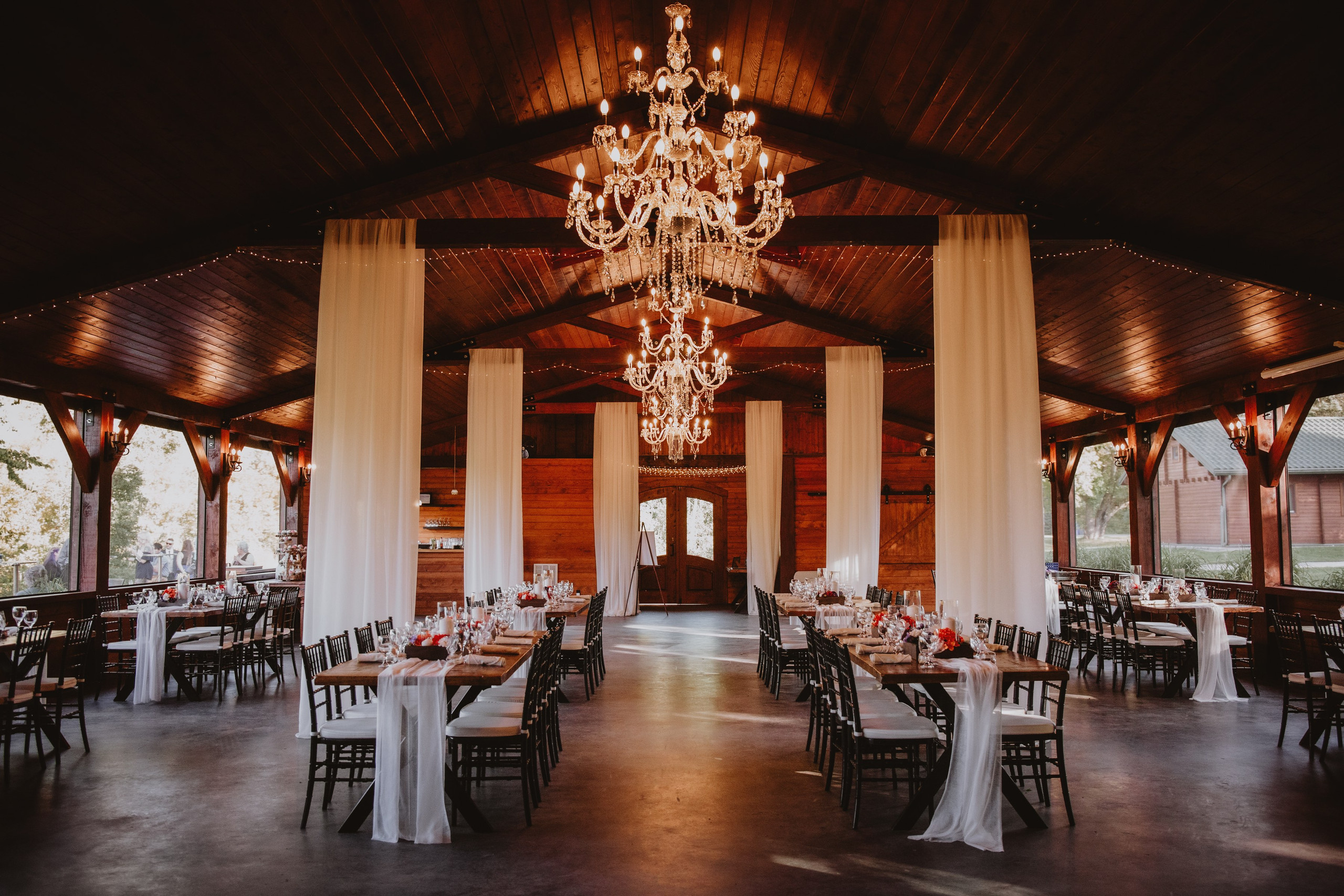 Fall Wedding Venue - Rivers Edge Resort in Elma, Manitoba.