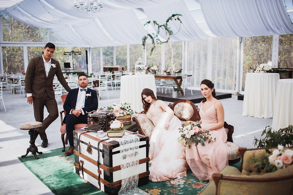 Fall wedding inspiration from Kinloch Grove's open house in Matlock, Manitoba