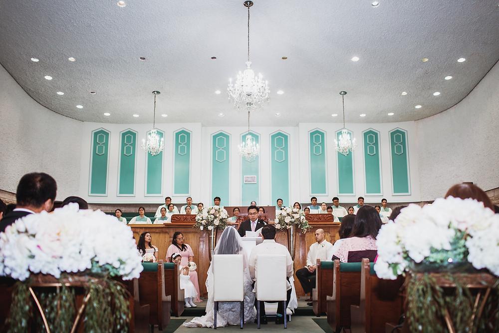 Winnipeg church wedding.