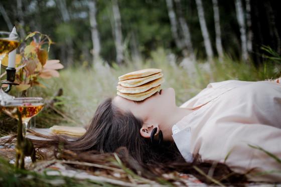 Face Full of Pancakes
