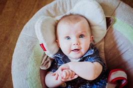 Three Month Old Elisha