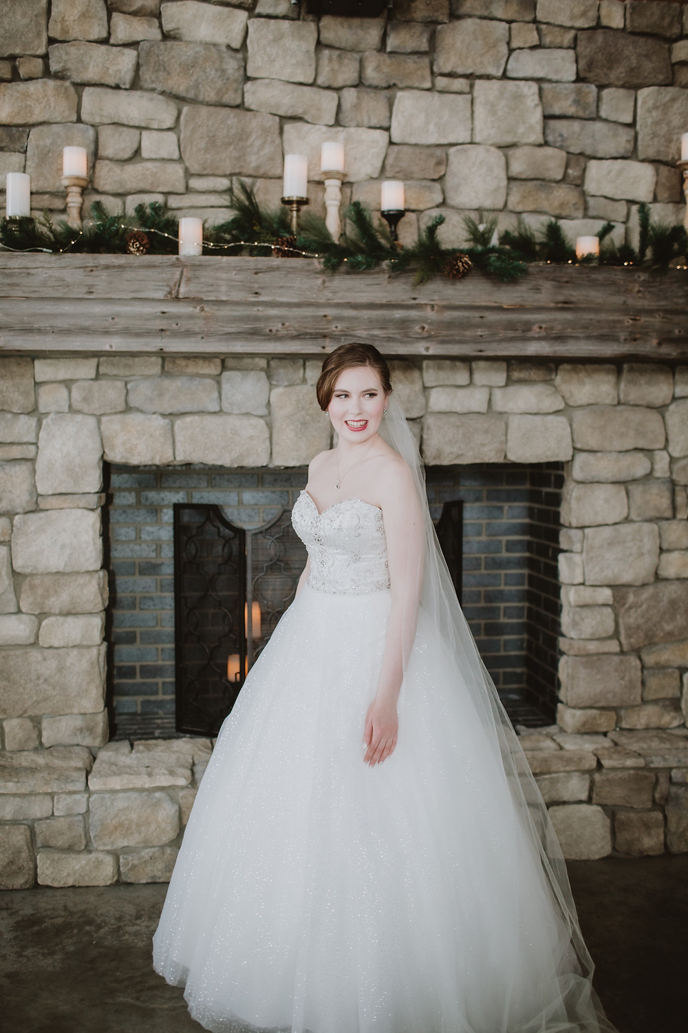 Canadian bride excited for her winter wedding in Manitoba.