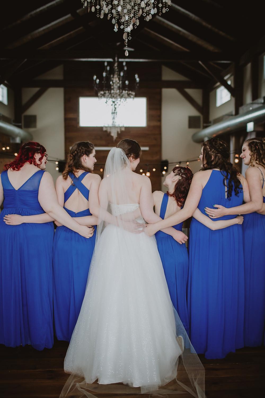 Bridesmaids portraits.