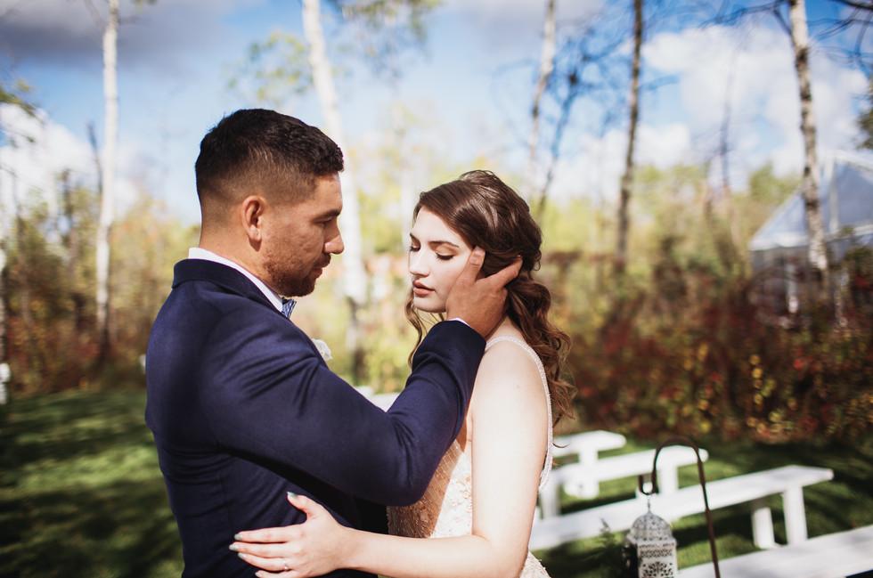 Manitoba Bride and Groom