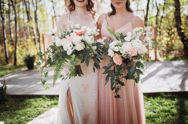 Stunning Blush Florals