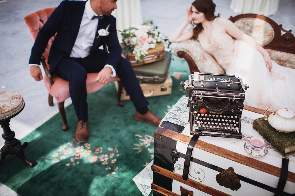 Secret Garden themed wedding in Matlock, Manitoba