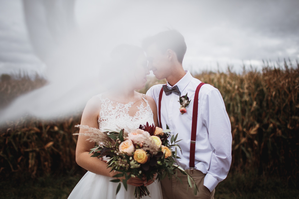 Fall Wedding in Winkler Manitoba